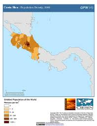 Map Costa Rica Map Gallery Sedac
