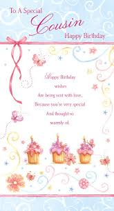 Happy Birthday Wishes For A Cousin To My Sweet Cousin Happy Birthday Wishes Card Happy Birthday