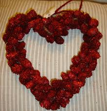 Decorating Pine Cones With Glitter How To Decorate A Christmas Wreath With Tulle Ugly Sweater Mesh