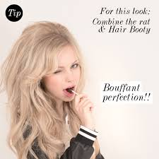 how to get a lifted crown hairdo how to make a rat hair piece hair extensions blog hair