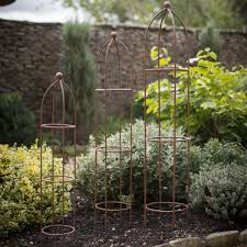barrington small obelisk supports set of 3 clifton nurseries