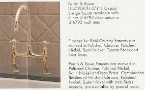 perrin and rowe kitchen faucet rohl kitchen faucets