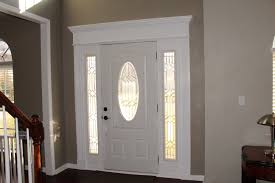 inside front door crown molding painted white and door from home inside front door crown molding painted white and door from home depot w