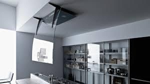 cuisine moderne ilot dimension ilot central cuisine 14 hotte 238lot pratique et