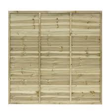 woodbury timber square trellis panel h 1 8m w 0 6 m pack of 4