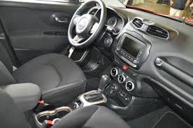 gray jeep renegade interior quick look 2015 jeep renegade