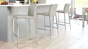 stainless steel bar stools with backs white leather kitchen bar stools koucovani