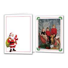 photo insert christmas cards tyndell photographic santa photo folder