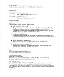 interior designer free resume samples blue sky resumes