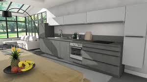 espace cuisine vendenheim cuisine moderne petits espaces grands volumes cuisine sur