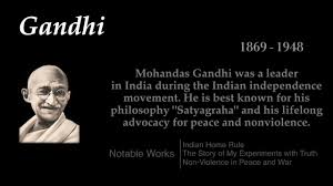 gandhi top 10 quotes