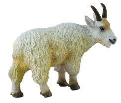Goat Decor Amazon Com Collecta Woodlands Whie Mountain Goat Nanny Toy Figure