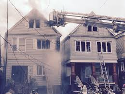 two homes in bayonne new jersey consumed by fire cbs new york