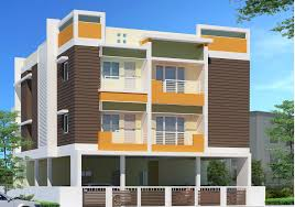 three story building square sized three story residential building elevation home