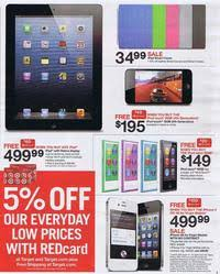target black friday ipad 2 target black friday 2012 ad scan