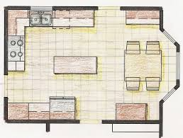 28 galley kitchen with island floor plans u shaped galley