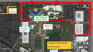 Rose State College Map by Athletics Long Beach State University Official Athletic Site