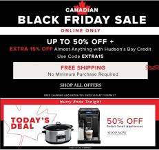 black friday canada 2017 deals hudson u0027s bay canadian black friday sales free shipping on all
