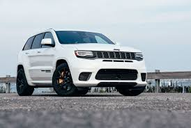 trackhawk jeep black review 2018 jeep grand cherokee trackhawk gear patrol