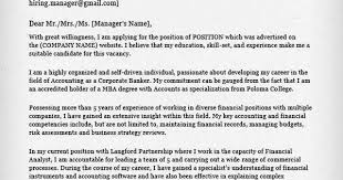 accounting cover letter cover letter pinterest