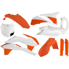 acerbis replacement full plastic kit for 125 450 sx 13 14