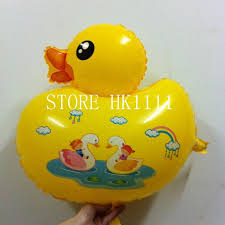 duck decorations yellow duck balloons child toys balloon wedding birthday