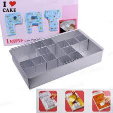 ustensile de cuisine en m en 6 lettres lettre nombre gâteau pan set de décoration de gâteau outils cuisine