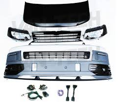 vw transporter t5 to t5 1 front end conversion styling pack