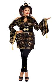 plus size costumes for women golden geisha plus size costume purecostumes
