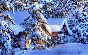 Winter Houses Winter Cabin Wallpaper Wallpapers Browse