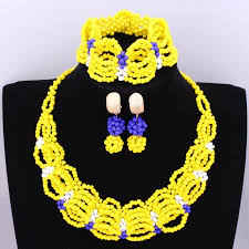 african beads necklace images 4ujewelry african beads jewelry sets yellow skirt design necklace jpg