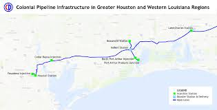 Map Of Conroe Texas Colonial System Map U2013 Texas Harvey Storm Response