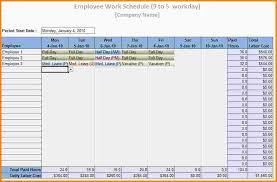 Employee Scheduling Excel Template Staff Schedule Template Temp Jobtaskanalysis Word Jpg 15 Free
