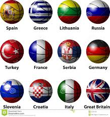 Best National Flags Basketball Europe Stock Image Image Of Silver Winner 32345335