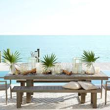 West Elm Outdoor Chairs Portside Expandable Dining Table Weathered Grey West Elm Au