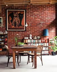 interior designs nice exposed brick wall ideas and decor for