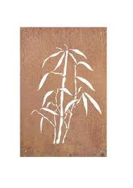 Garden Wall Art Australia - bamboo garden wall art panel one u2013 fountainland australia