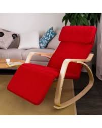 Armchair With Footrest Bargains On Haotian Comfortable Relax Rocking Chair With Foot Rest