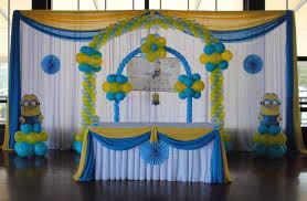 Decoration Home Interior Decor Top Balloon Birthday Decoration Room Design Plan Amazing