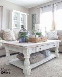 White Distressed Coffee Table Rustic White Coffee Table Distressed Coffee Table Set