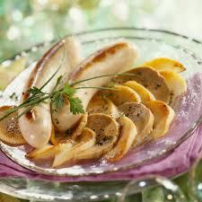 cuisiner le boudin boudin blanc aux pommes et foie gras recette recette du boudin