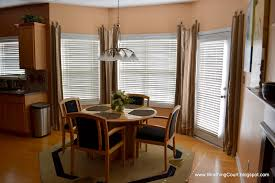 bay window curtain ideas for dining room u2013 day dreaming and decor