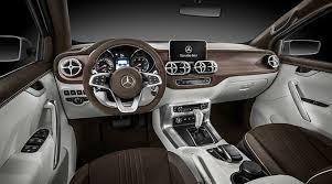 mercedes interior mercedes x class stylish explorer interior design