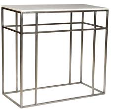 Stone Console Table Slim Metal Console Table With Stone Top Altar U0026 Console Tables