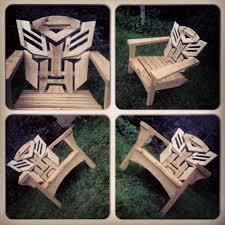Adirondack Chair Place Card Holders Autobots Adirondack Muskoka Chairs Wood Working Pinterest