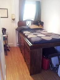 Bedroom Storage Making The Most by 5 Diy Bed Frames With Built In Storage Diy Bed Frame Diy Bed