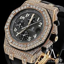 gold lamborghini with diamonds audemars piguet diamond royal oak offshore chronograph rose gold