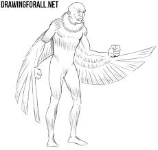 draw vulture marvel drawingforall net