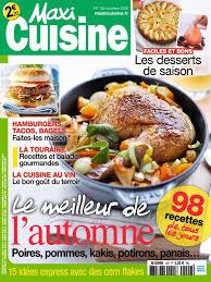 maxi cuisine magazine télécharger maxi cuisine n 102 octobre 2015 gratuitement