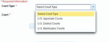 Cm Ecf Help Desk Limited Filers Registering To Efile United States Bankruptcy